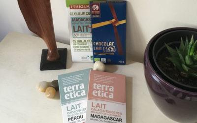 Les laits cacao intense à l'honneur